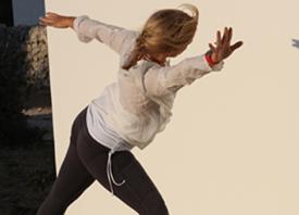 Yoga de l'automne, avec Lyne St-Roch