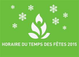 Horaire Noël 2015 THUMBNAIL