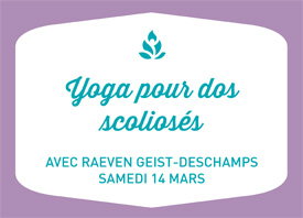 ATELIER: Yoga pour dos scoliosés